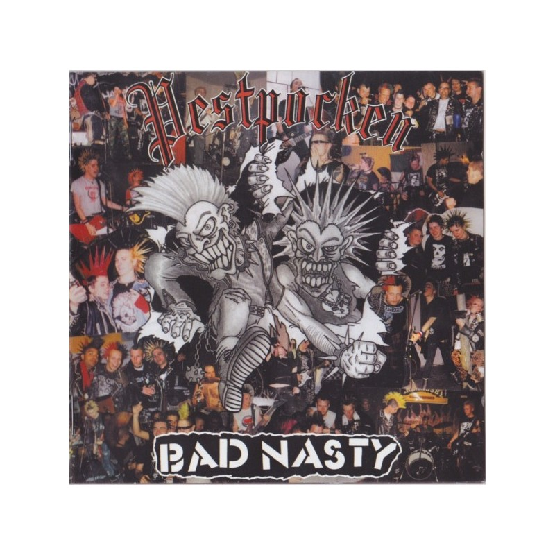 BAD NASTY / PESTPOCKEN - Split