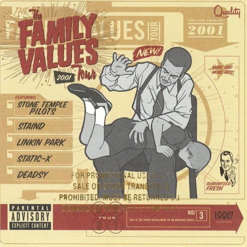 Various Family Values Tour 2001