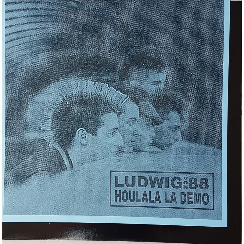 LUDWIG VON 88 - Houlala La Démo ( Pochette Bleu)
