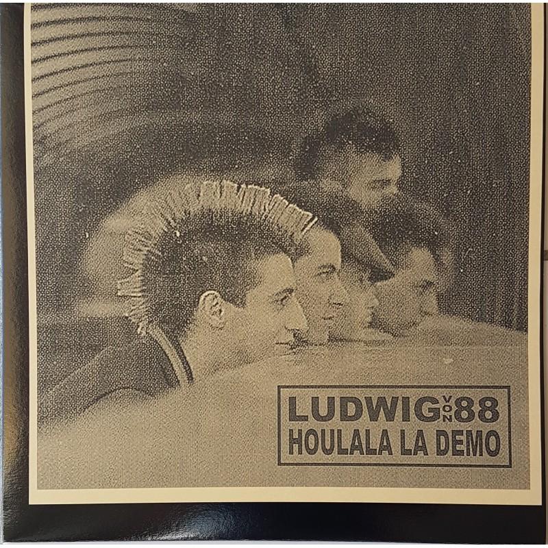 LUDWIG VON 88 - Houlala La Démo ( Pochette Beige)