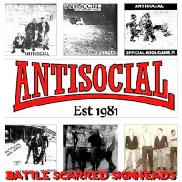 Antisocial - Battle Scarred Skinheads
