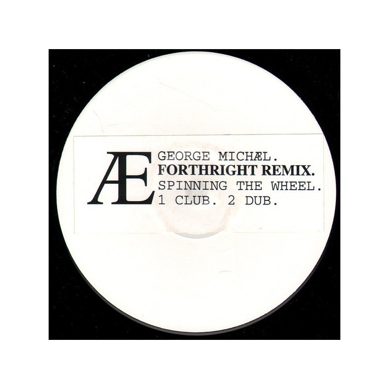 GEORGE MICHAEL - Spinning The Wheel - Forthright Mix