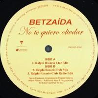 BETZAIDA - No Te Quiero Olivdar