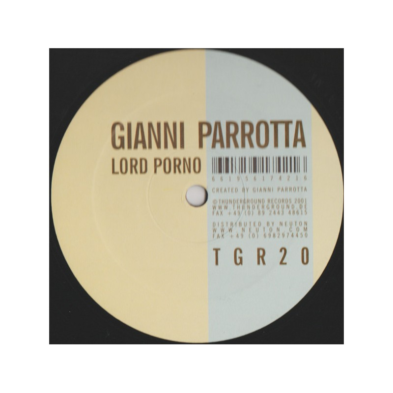GIANNI PARROTTA - Lord Porno