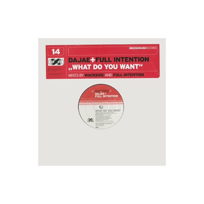 DAJAE & FULL INTENTION - What Do You Want