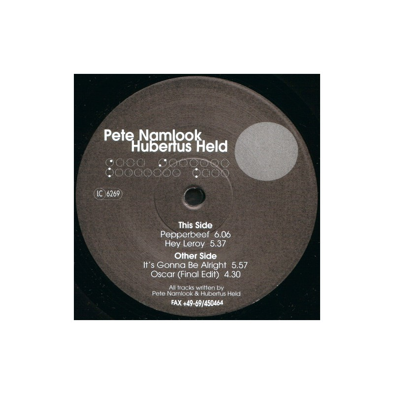 PETE NAMLOOK - Hubertus Held EP