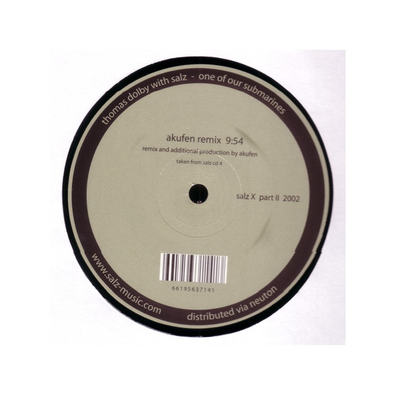 THOMAS DOLBY With SALZ - One Of Our Submarines (Akufen Remix)