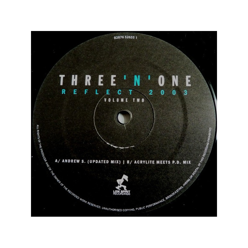 THREE 'N ONE - Reflect 2003 - Vol.2 - Incl. Acrylite Mix