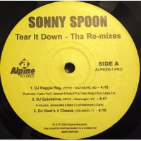 SONNY SPOON - Tear It Down - Tha Re-Mixes