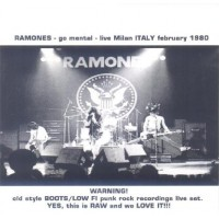 RAMONES - Go Mental - Live in Milan, ITALY, February 1980