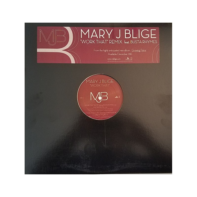MARY J BLIGE - Work That Feat. Busta Rhymes