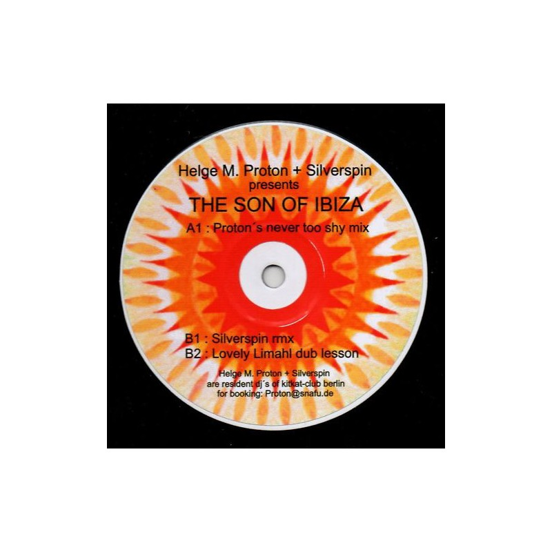 HELGE M. PROTON & SILVERSPIN - The Son Of Ibiza