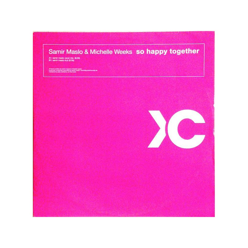 SAMIR MASLO & MICHELLE WEEKS - So Happy Together