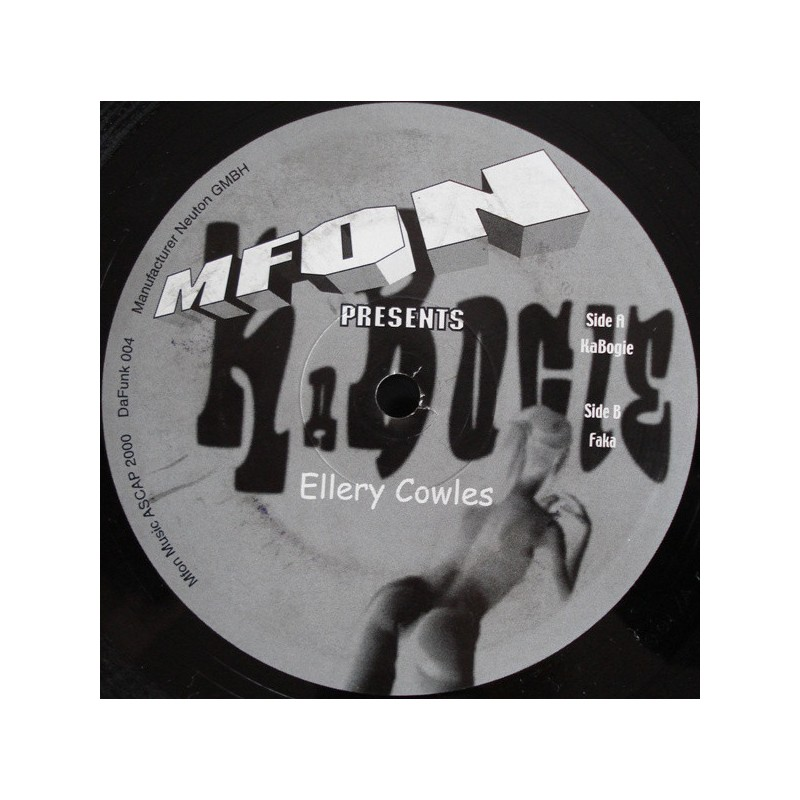 ELLERY COWLES - KaBogie