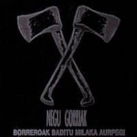 NEGU GORRIAK - Borreroak Baditu Milaka Aurpegi
