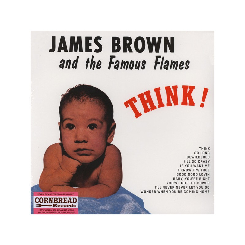 JAMES BROWN & FAMOUS FLAMES - Think