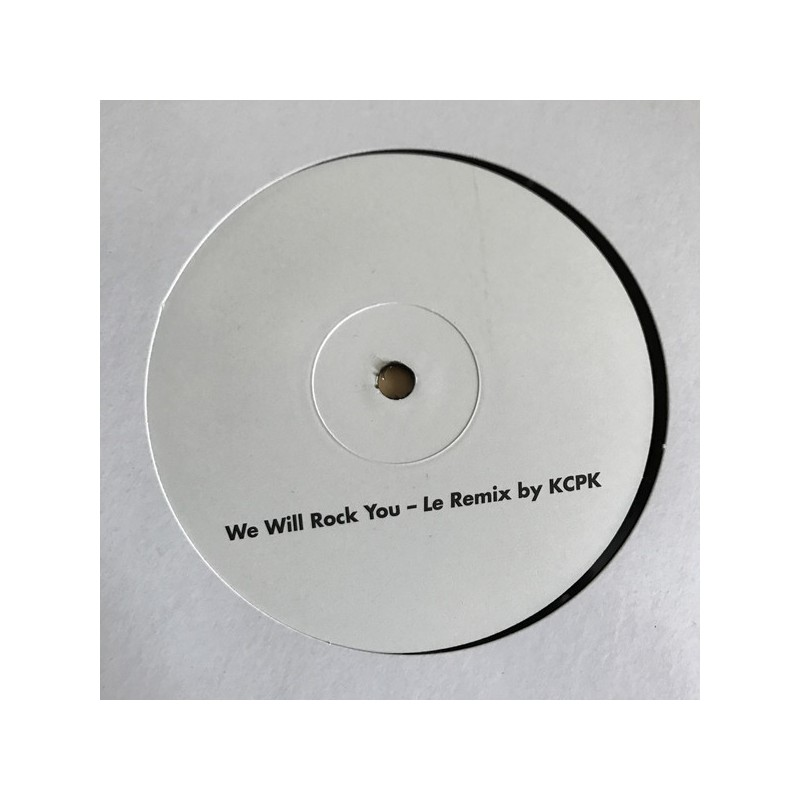 DAX RIDERS / KCPK - We Will Rock You - Dax Riders Remix / Le Remix By KCPK