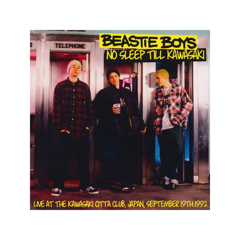 BEASTIE BOYS - No Sleep Till Kawasaki: Live At The Kawasaki Citta Club, Japan, September 19th 1992