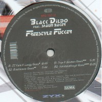 BLACK DILDO Feat. SHAUN BAKER - Freestyle Fucker