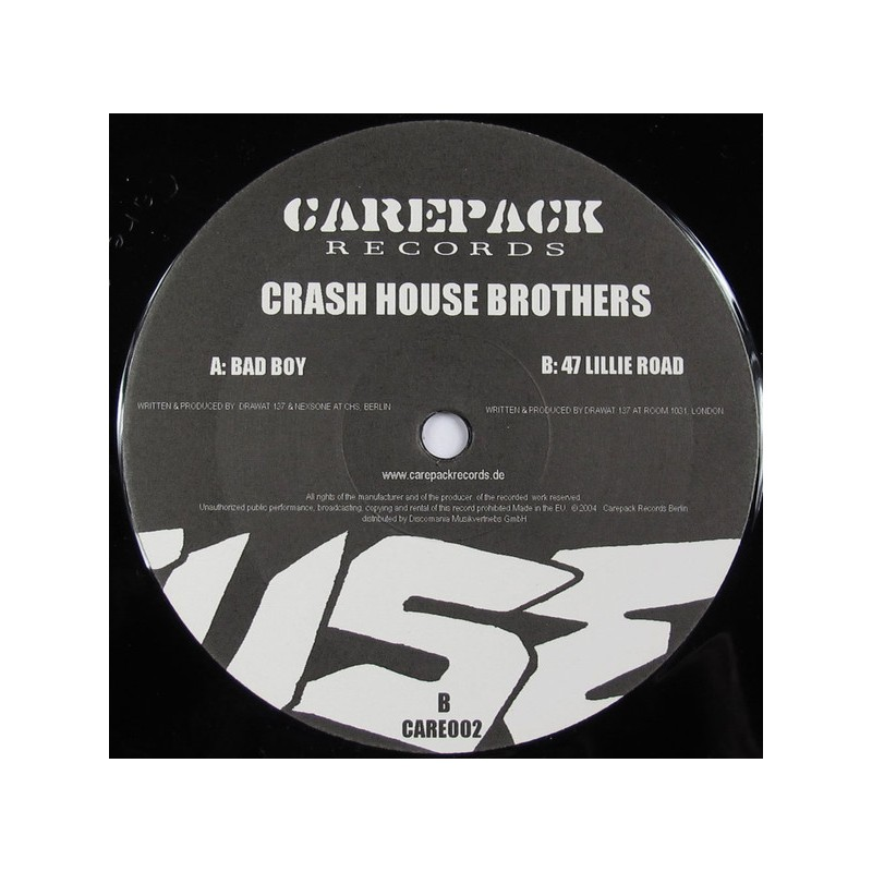 CRASH HOUSE BROTHERS - Bad Boy