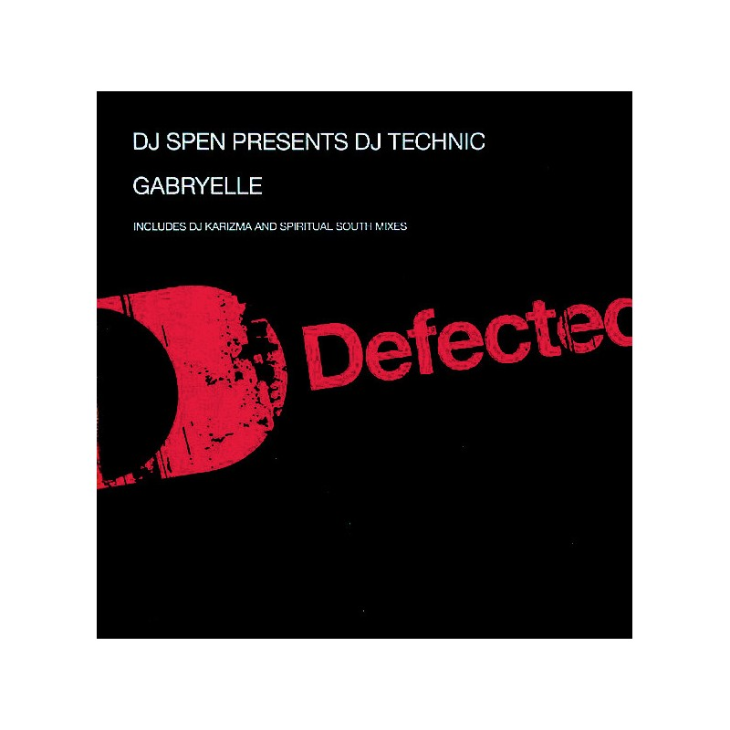 DJ SPEN - Presents Dj Technic : Gabryelle