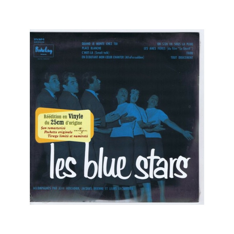 LES BLUE STARS - Accompagnes Par Les Orchestres Jean Mercadier & J. Brienne
