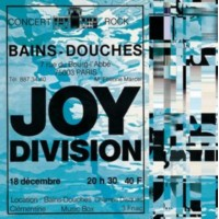 Joy Division - Live At Les Bains Douches, Paris December 18, 1979