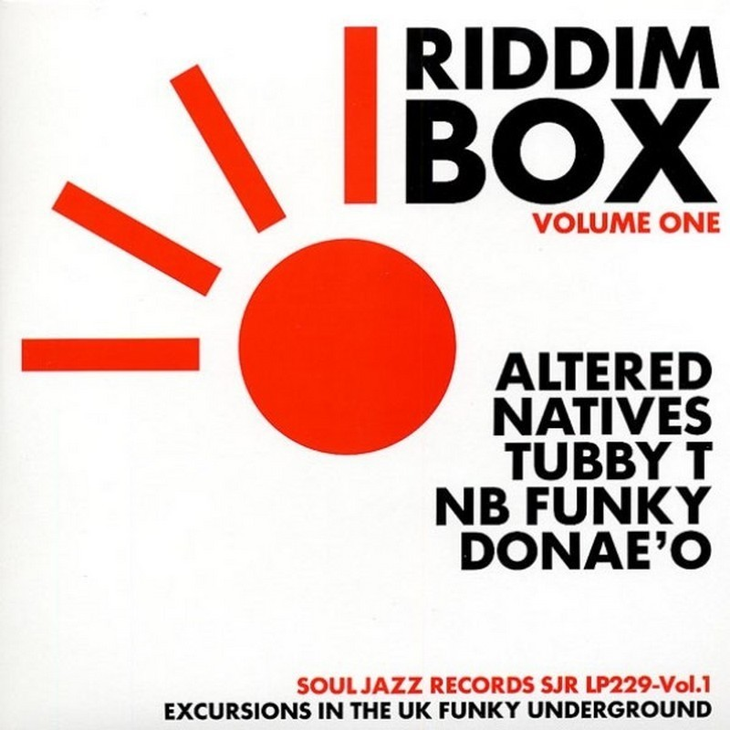 Various Riddim Box Vol.1 - Excursions In The Uk Funky Underground
