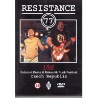 RESISTANCE 77 - Live Futurum Praha & Rakovnik Punk Festival