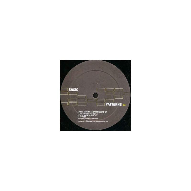 Vinyle - CHRIS ZANDER - Snarekillers EP