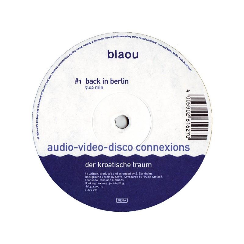 Vinyle - AUDIO VIDEO DISCO CONNEXION - Der Kroatische Traum