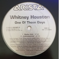 Vinyle - WHITNEY HOUSTON - One Of Those Days