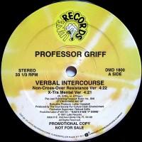 Vinyle - PROFESSOR GRIFF - Verbal Intercourse