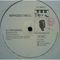 Vinyle - MARYHOUSE & TANO DJ - DJ For Survival