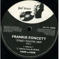 Vinyle - FRANKIE FONCETT - Streetfighter 2000
