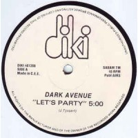 Vinyle - DARK AVENUE - Let's Party