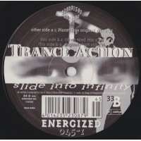 Vinyle - TRANCE ACTION - Slide Into Infinity