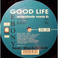 Vinyle - EBONY Feat. BLACK ATTACK - Good Life (Everybody Wants It)