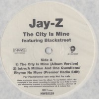 Vinyle - JAY-Z Feat. BLACKSTREET - The City Is Mine