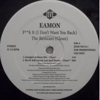 Vinyle - EAMON -  F**k It (I Don't Want You Back) (The Remixes)