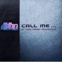 Vinyle - ATO - Call Me...If You Need Someone!