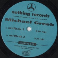 Vinyle - MICHAEL GREEK - Acidtrak
