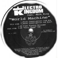 Vinyle - ELECTRO KINGDOM FEAT. MARK KING - World Machine