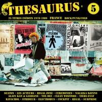 Vinyle - Various Thesaurus Volume 5 Inédits France Rock Punk Cold 1978-1986