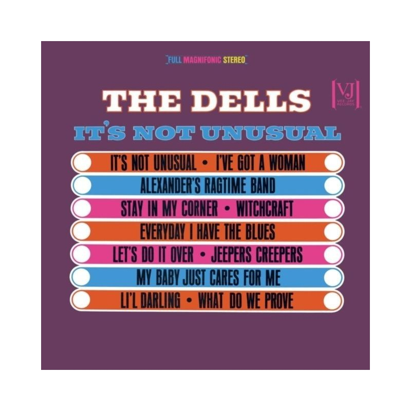 THE DELLS - It's Not Unusual