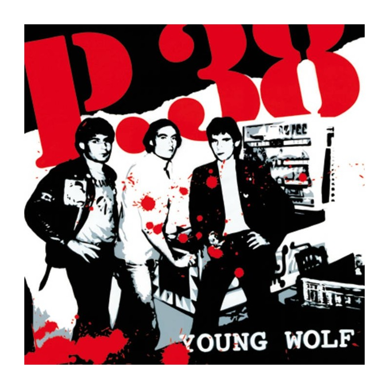 P 38 - Young Wolf