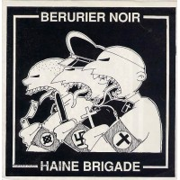 BERURIER NOIR / HAINE BRIGADE - Split